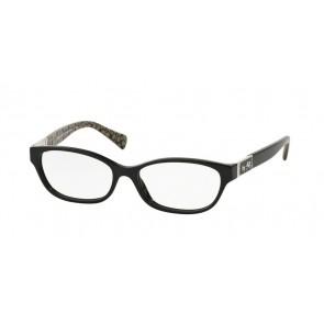 Coach 0HC6061 Emma Eyeglasses Black/Black Military Sig C