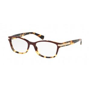 Coach 0HC6065 Eyeglasses Burgundy Tortoise/Tortoise
