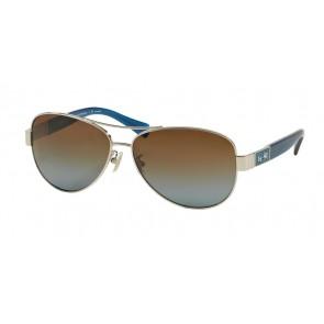 Coach 0HC7047 - L103 CHRISTINA Sunglasses Silver/Blue-90781F