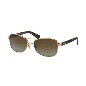 Coach 0HC7054 - L129 Sunglasses Light Gold/Dark Tortoise-9209T5LIGHT GOLD/DARK TORTOISE