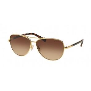 Coach 0HC7058 - L136 Sunglasses Gold/ Dark Tortoise