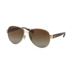Coach 0HC7063 - L148 Sunglasses Light Gold/Dark Tortoise-9262T5