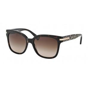 Coach 0HC8103 - L080 Alfie Sunglasses Dk Tortoise/Beige Ocelot Sig C-522713
