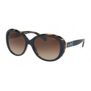 Coach 0HC8120F Sunglasses Navy Milky Tortoise-537913