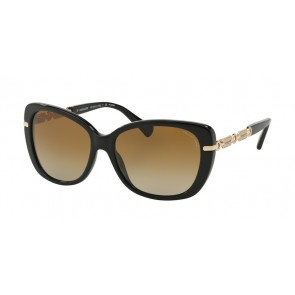 Coach 0HC8131 - L108 Sunglasses Black/Light Gold-5308T5