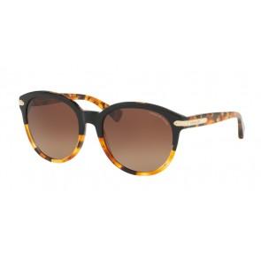 Coach 0HC8140 - L111 Sunglasses Black Tortoise/Tortoise-5438T5