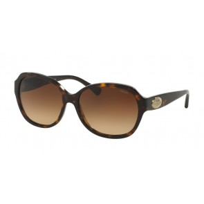 Coach 0HC8150 - L133 Sunglasses Dark Tortoise-512013