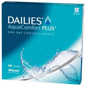 focus dailies aqua comfort plus contact lenses