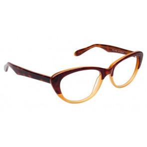 Fysh 3500 Eyeglasses-Mahogany-Nude