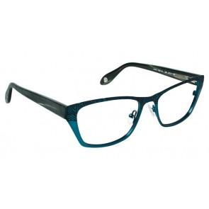 Fysh 3510 Eyeglasses- Teal