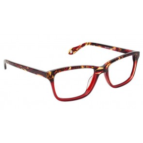 Fysh 3514 Eyeglasses-Red Tortoise