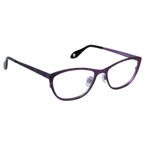 Fysh 3519 Eyeglasses-Purple