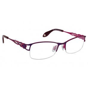 Fysh 3520 Eyeglasses-Purple Magenta