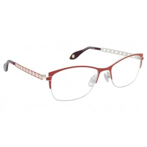 Fysh 3521 Eyeglasses-Red Putty