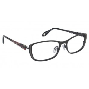 Fysh 3522 Eyeglasses-Black