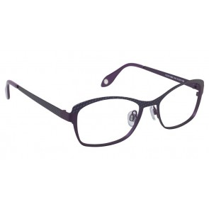 Fysh 3523 Eyeglasses-Purple