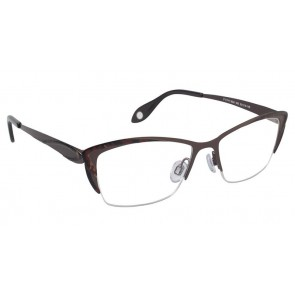 Fysh 3524 Eyeglasses-Brown
