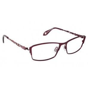 Fysh 3530 Eyeglasses-Burgundy