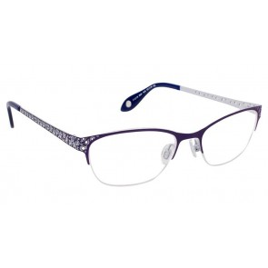 Fysh 3531 Eyeglasses-Purple Grey