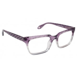 Fysh 3536 Eyeglasses-Purple Smoke