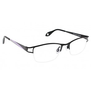 Fysh 3537 Eyeglasses-Black