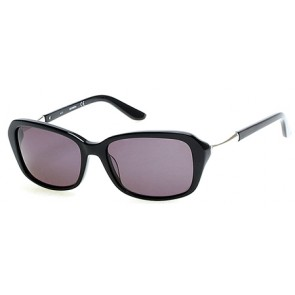 Harley Davidson HD0303X Sunglasses 01A - Shiny Black / Smoke