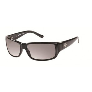 Harley Davidson HD0860X (HDX 860) Sunglasses C33 (Shiny Black)