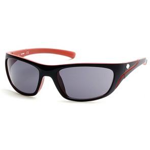 Harley Davidson HD0903X Sunglasses 05A - Black/Other / Smoke
