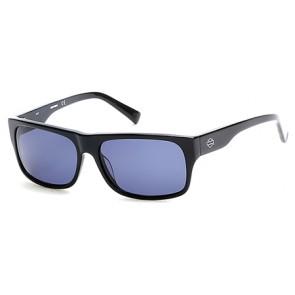 Harley Davidson HD0905X Eyeglasses 01V - Shiny Black / Blue