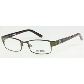 Harley Davidson HD0104T (HDT 104) Eyeglasses - D96 (Brown)