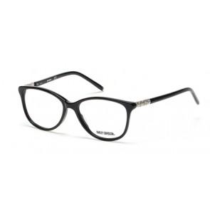 Harley Davidson HD0535 Eyeglasses-001-Shiny Black