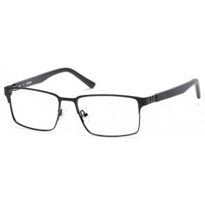 Harley Davidson HD0716 Eyeglasses-001-Shiny Black