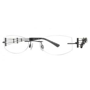 Line Art Xl2000 Eyeglasses-Black