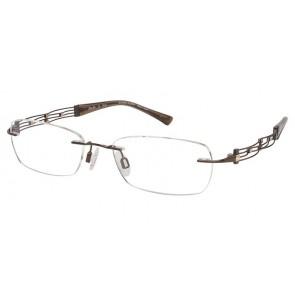 Line Art Xl2011 Eyeglasses-Brown