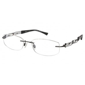 Line Art Xl2012 Eyeglasses-Black