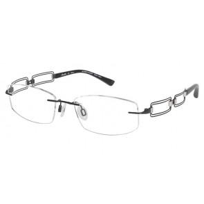 Line Art Xl2019 Eyeglasses-Black