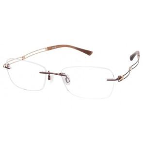 Line Art Xl2050 Eyeglasses-Brown