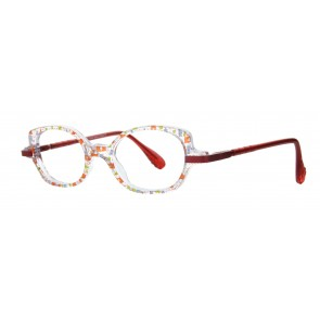 Merci Eyeglasses-Red-623