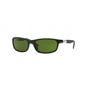 Ray-Ban 0Rj9056S Sunglasses-Shiny Black-187/2