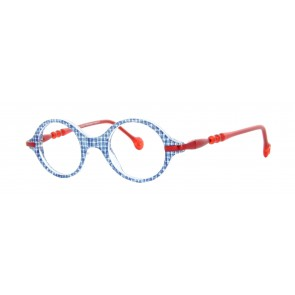 Ronde Eyeglasses-Blue-3053
