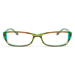 Scott Harris Sh228 Eyeglasses-Brown-Aqua