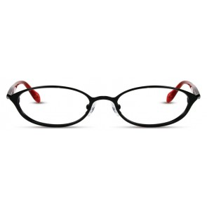 Scott Harris Sh234 Eyeglasses-Black-Red