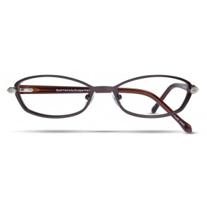 Scott Harris Sh237 Eyeglasses-Espresso-Steel