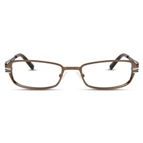 Scott Harris Sh242 Eyeglasses-Chocolate-Light Blue
