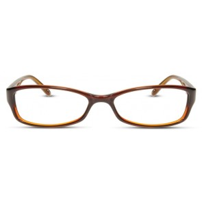 Scott Harris Sh249 Eyeglasses-Brown-Amber Zebra