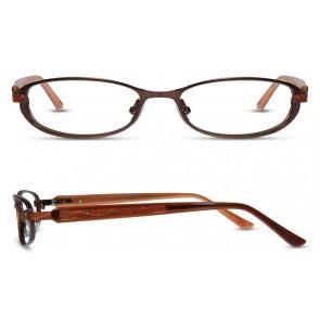 Scott Harris Sh262 Eyeglasses-Chocolate-Rust
