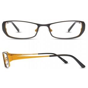 Scott Harris Sh263 Eyeglasses-Black-Citron