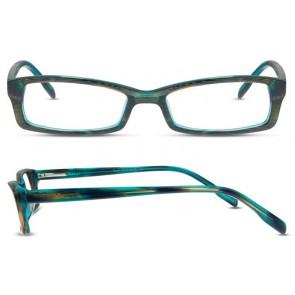 Scott Harris Sh272 Eyeglasses-Teal-Cocoa