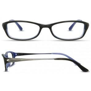 Scott Harris Sh301 Eyeglasses-Gray-White-Periwinkle