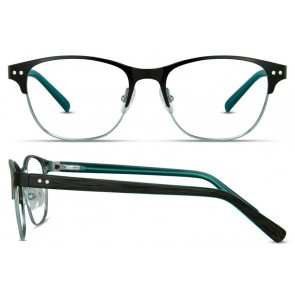 Scott Harris Sh302 Eyeglasses-Black-Teal